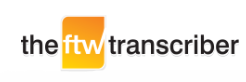 ftw transcription software