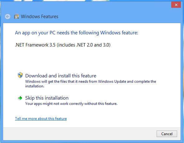 .Net Install